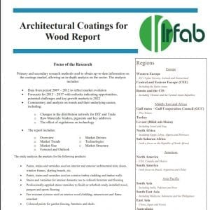 Architectural Coatings for Wood