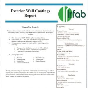 Exterior Wall Coatings sales