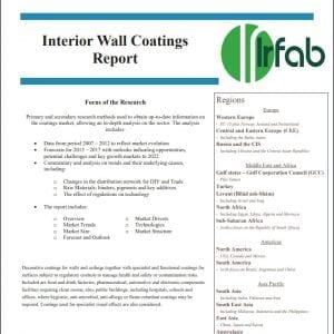 Interior Wall Coatings report