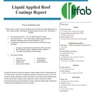 Liquid Applied Roof Sales